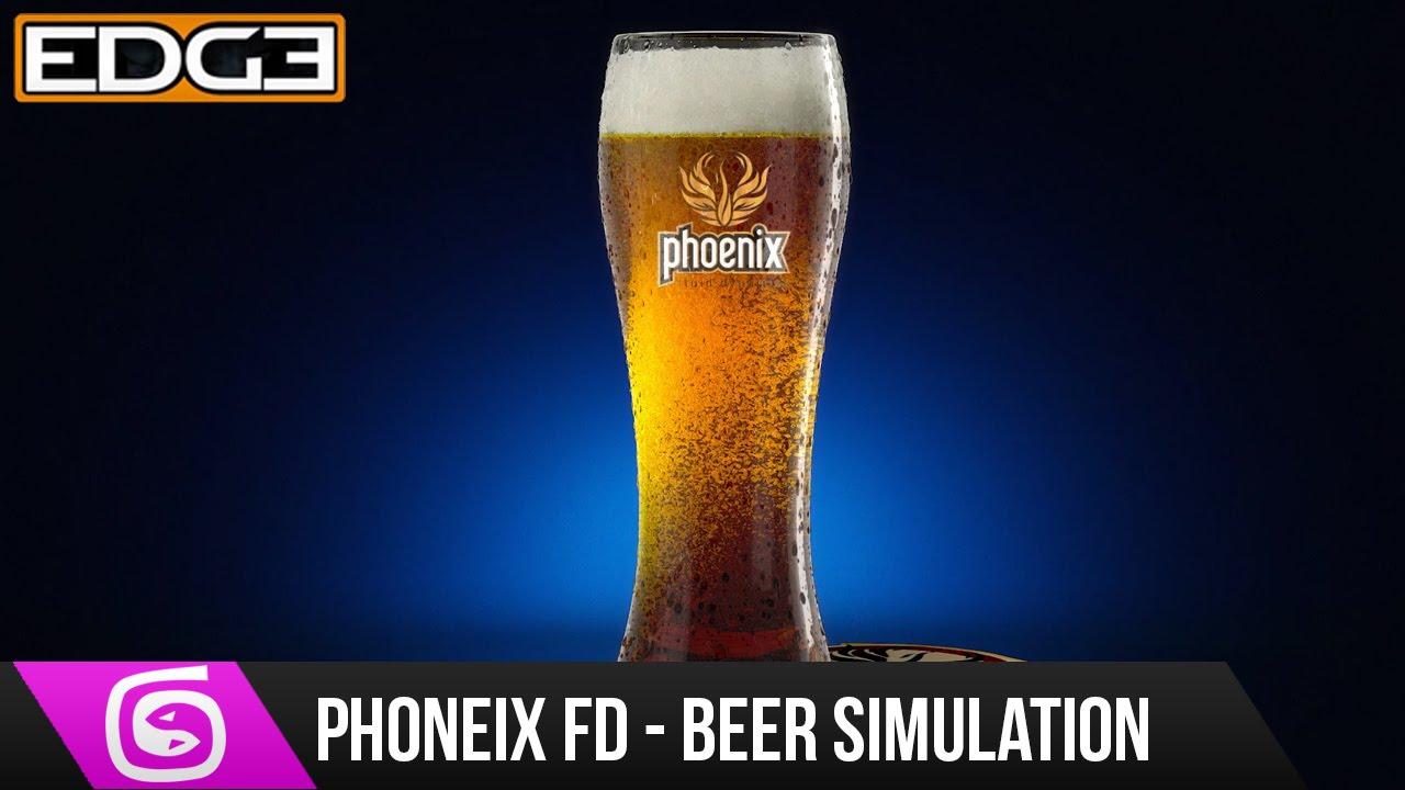 #2 3Ds Max & Phoenix FD Tutorial - Fluid Simulation, Beer Animation