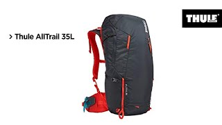 Thule AllTrail Women's Hiking Backpack - Gear stays Dry during storms with high-visibility