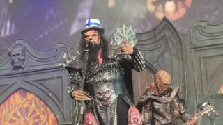 Lordi - Hard Rock Hallelujah Live @ Tuska Open Air 1/7/2016