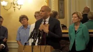 Brave Cory Booker on Moral Moment & No Bystanders