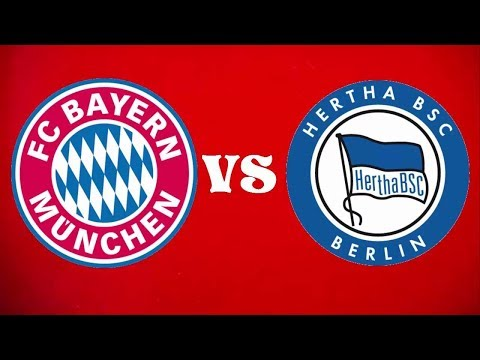 FC Bayern V hertha Berlin Live Match Chat. NO FOOTAGE SHOWN DUE TO COPYRIGHT!!!