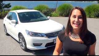 2014 HONDA ACCORD SPORT REVIEW AND TEST DRIVE | HERB CHAMBERS HONDA
