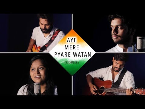 AYE MERE PYARE WATAN ( Duet Cover) By E-MAJOR || ft. AVANTIKA PADHYE ||