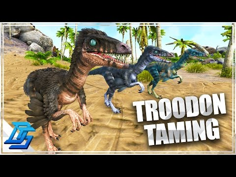 Ark: Survival Evolved - How To A Tame Troodon , Ark