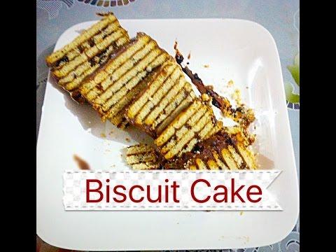 Biscuit Cake Recipe | बिस्कुट केक बनाये | Chocolate Cookie Cake Recipe |Must Watch Video