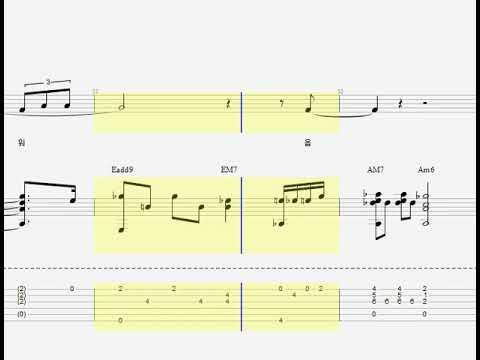아이유(IU)-이런엔딩(Ending Scene) 기타(GUITAR) 타브(TAB) 코드 가사 - YouTube