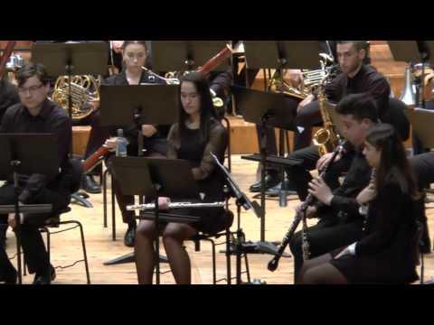 2016-02-12 Banda Profesional CMUS e Banda Municipal de Santiago   Sinfonía nº 3 Don Quixote