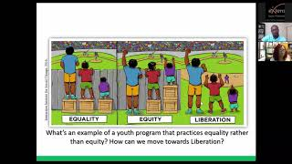 Social Justice Youth Development webinar