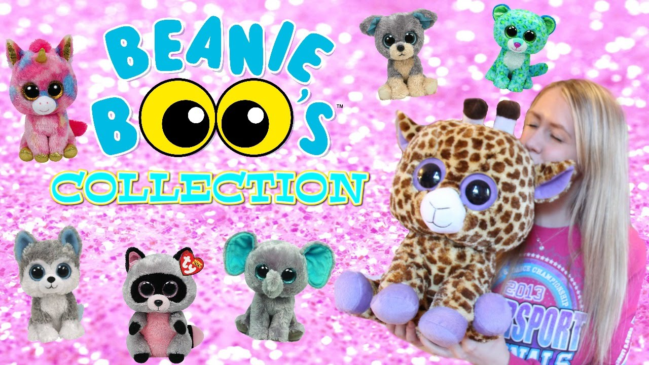 8594dfe68a3 MY BEANIE BOO COLLECTION - YouTube