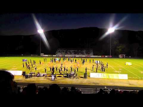 "Radford High School Marching Band @ Lord Botetourt - ""The Pursuit of Happiness"" - 2014"