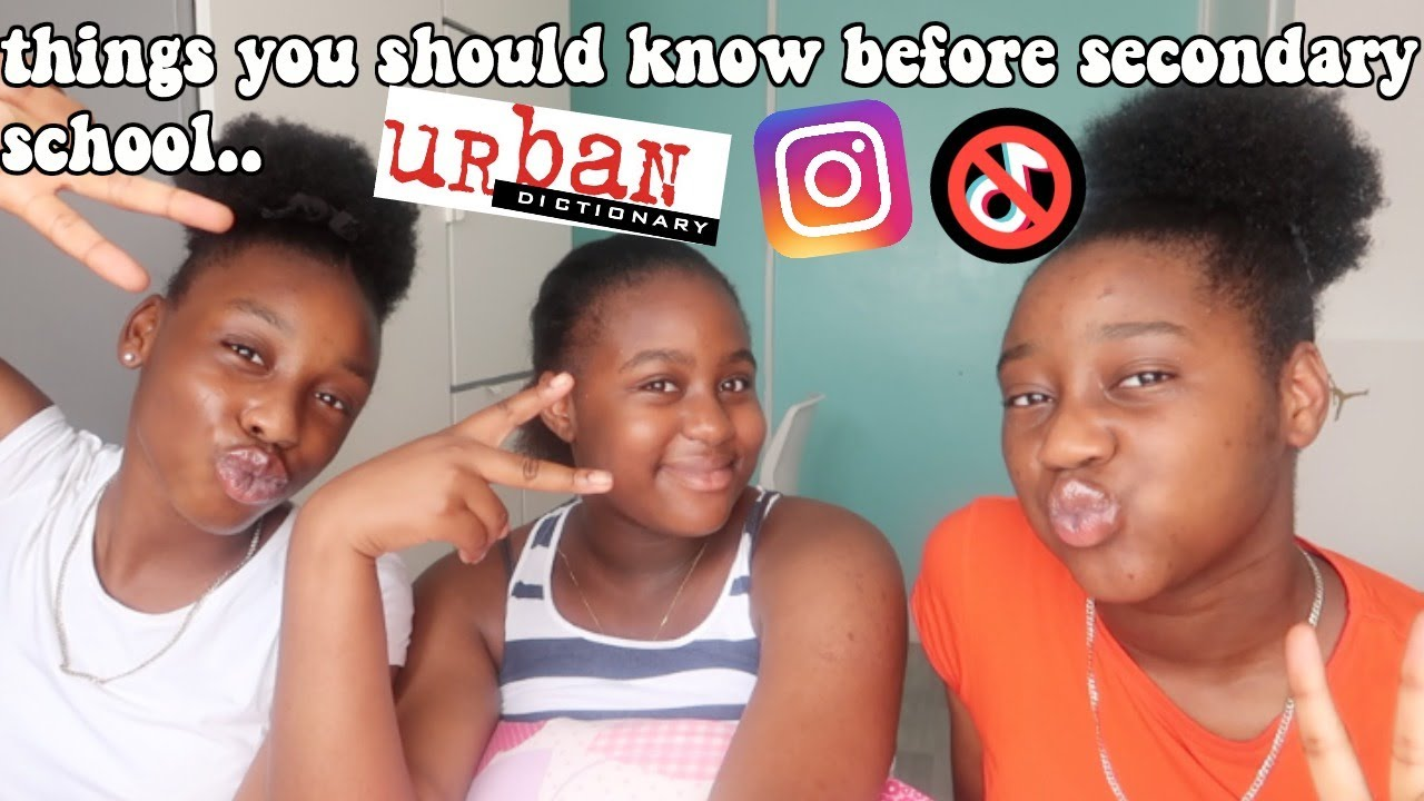 THINGS YOU SHOULD KNOW BEFORE GOING SECONDARY SCHOOL!