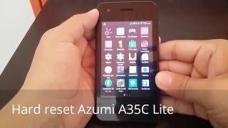 HARD RESET Celular AZUMI A35C LITE Formatear