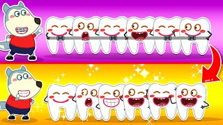 Wolf Family🌞 Wolfoo's Wobbly Tooth Become Healthy With Braces - Wolfoo Learns Good Habits for Kids
