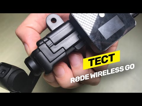 Rode Wireless Go тест-обзор с популярными камерами!