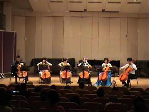 Johann Straus, Cello Sextet, Sinfonia of Die Flede...