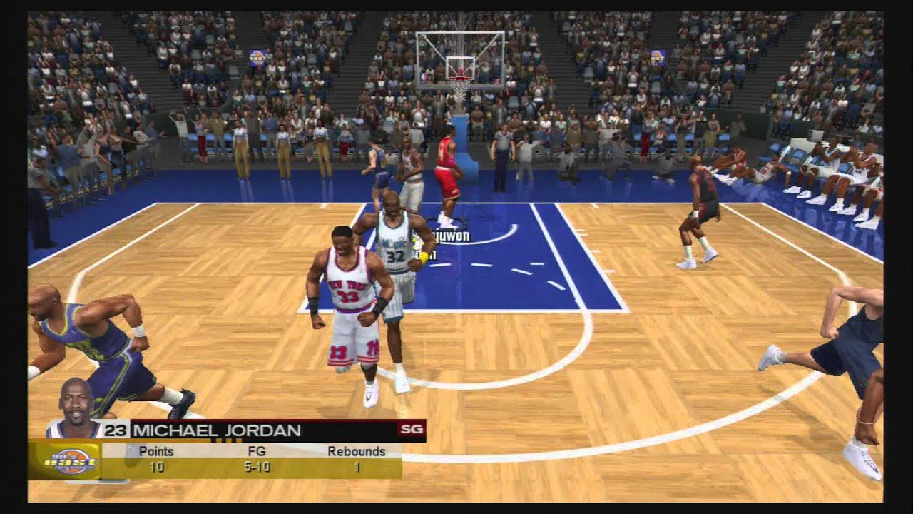 Nba 2k3 90s West Vs 90s East Michael Jordan 104 Overall Rating
