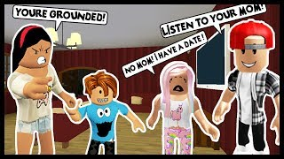 MY KIDS ARE IN BIG TROUBLE! THEY ARE GROUNDED! - Roblox