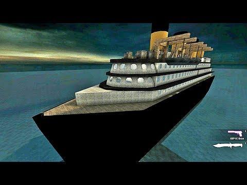 CS:GO - Zombie Escape Mod Gameplay On Titanic Escape Map - Mizapro