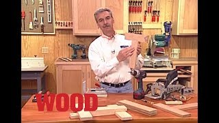 How To Create Strong End Grain Joints - WOOD magazine