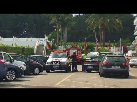 Explosión en un hotel de Sanxenxo
