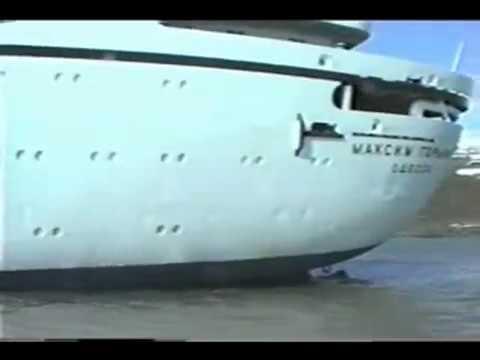 '''Максим Горький'' Последствия аварии (22-24 июня 1989)