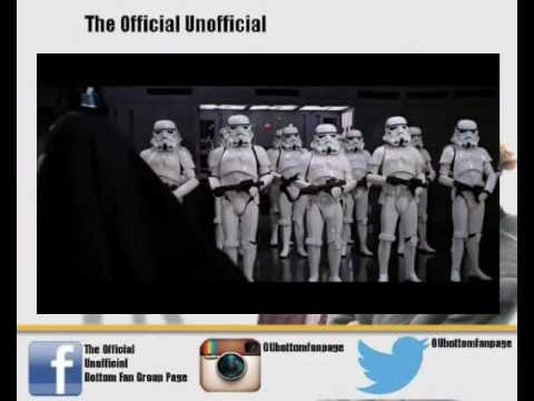 Rik Mayall and Ade Edmondson Star Wars voice over