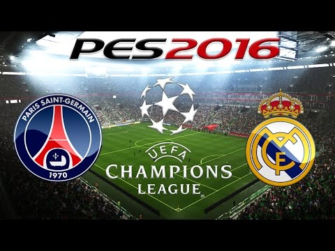 PES 2016 PROGNOSE - CHAMPIONS LEAGUE: Paris Saint Germain vs. Real Madrid «» Let's Play PES 2016