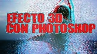 Tutorial de Photoshop - Como hacer efecto 3D en una foto con Photoshop CS6 en español