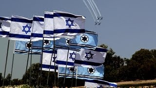 The Israeli Air Force Airshow for the The Independence Day 65th of Israel