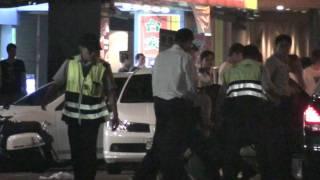 新竹街頭暴動 警察來也沒用 太恐怖了 暴力城市 thumbnail