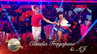 Claudia Fragapane & AJ Cha Cha to 'That's What Makes You Beautiful' - Strictly Come Dancing 2016