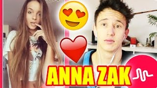 IM IN LOVE ! Anna Zak BEST OF Musical.ly ! (Reaction)
