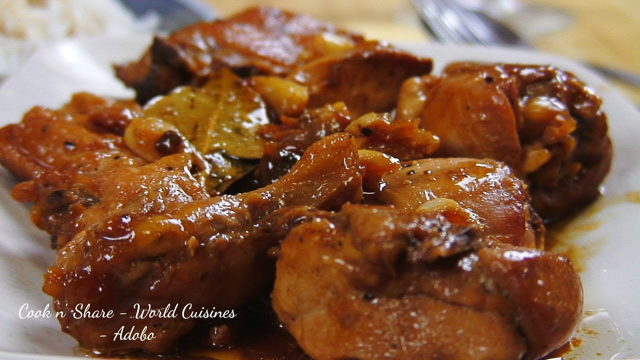 filipino chicken adobo pork adobo traci s adobo seasoning basic adobo ...