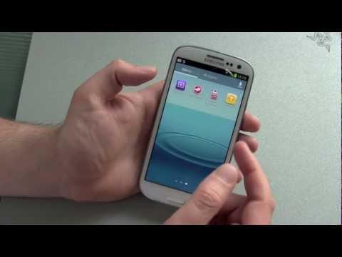 Samsung Galaxy S3 einrichten und erster Eindruck