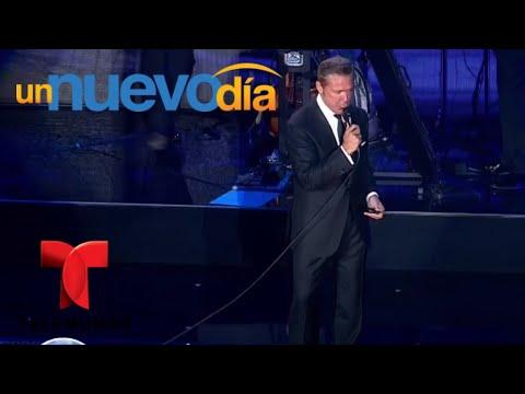 ¡Luis Miguel volvió y conquistó al Auditorio Nacional! | Un Nuevo Día | Telemundo