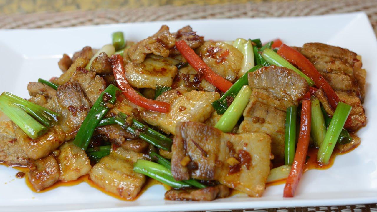 twice cooked pork 回锅肉 youtube