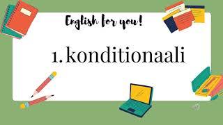 Englannin kielioppi - 1. konditionaali