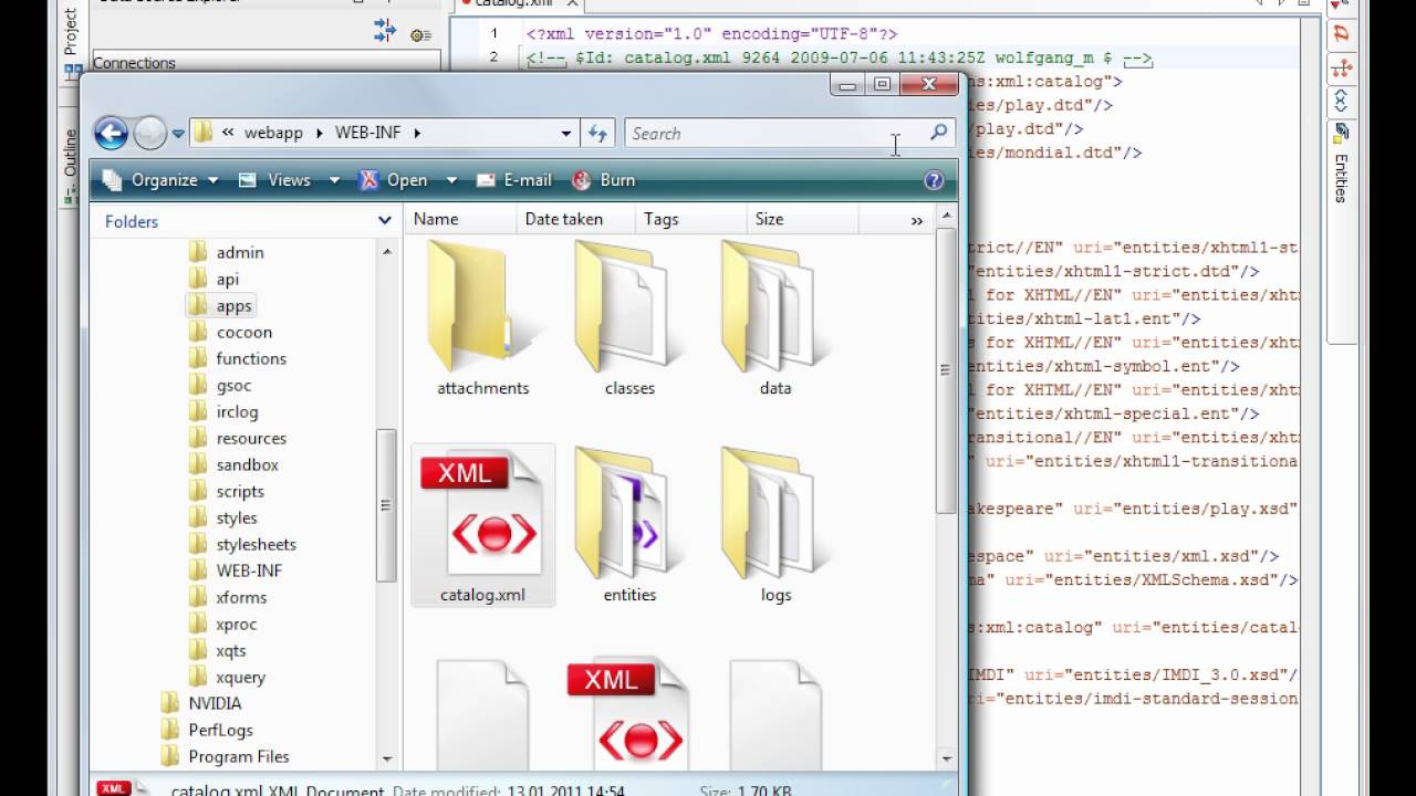 Running XQuery Against an eXist XML Database in Oxygen XML Editor 12 1