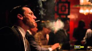 Mad Men HD - Don Draper - S05E13 - Final Scene - You only live twice