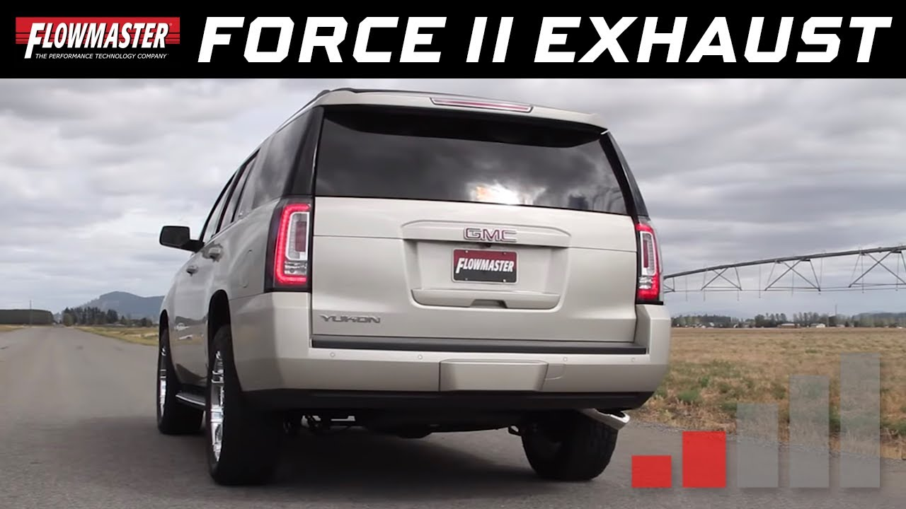 2015 20 chevy tahoe gmc yukon 5 3l force ii cat back exhaust system 817704