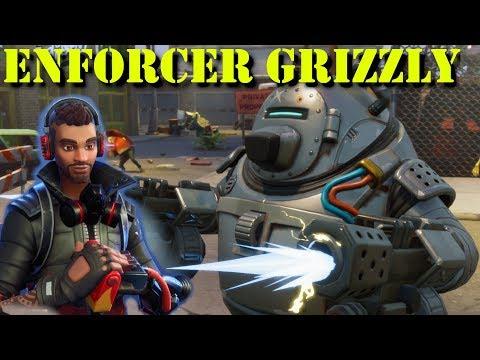 Fortnite | Enforcer Grizzly | My New Favorite Outlander??