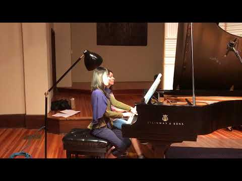 #BrandenburgDuets Recording Sessions, August 2017 - Eleonor Bindman and Jenny Lin