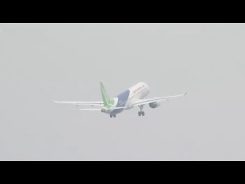 First China-built large passenger aircraft C919 takes off for maiden flight