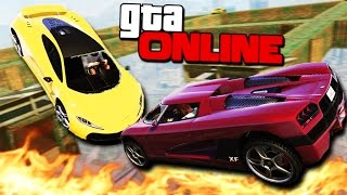 GTA 5 Online (ЭПИК) - Адское дерби! #103