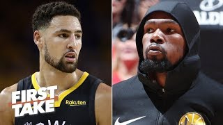 The Warriors plan to offer injured Klay and KD max contracts - Brian Windhorst | First Take