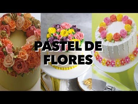 PASTEL DE FLORES . EXPECTATIVA/REALIDAD. FT @axelnovoa