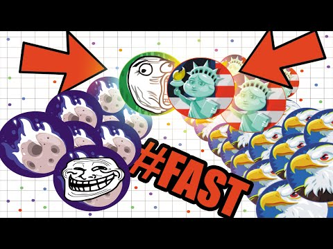 AGARIO INSANE DOUBLE TRICK BAIT! #WTF CRAZY UNCUT GAMEPLAY AGAR.IO