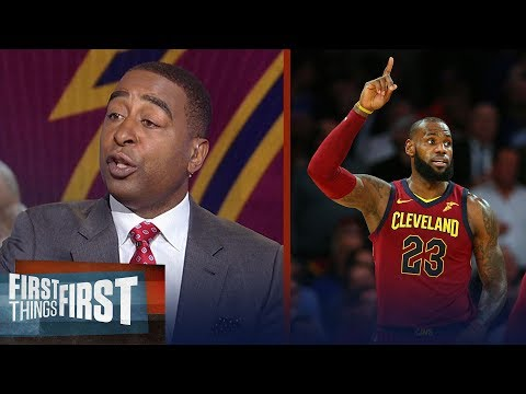 Will LeBron James sign with the Knicks in the offseason? Cris Carter responds | FIRST THINGS FIRST