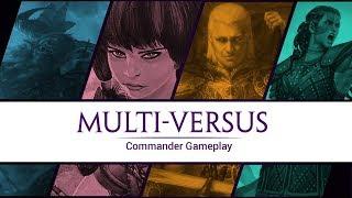 Multi-versus: Commander Gameplay / S1 Episode 4 Saskia - Edgar - Jhoira - Borborygmos
