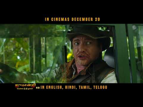 Live The Adventure | Tamil | Jumanji Movie | In Cinemas Dec 29